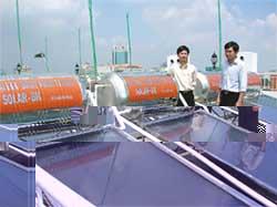 Hệ thống lọc nước đơn giản bằng năng lượng mặt trời