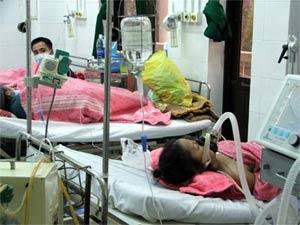 Giám sát các bệnh nhân nghi ngờ triệu chứng cúm A/H5N1