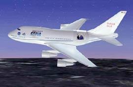 NASA thử nghiệm máy bay quan sát vũ trụ