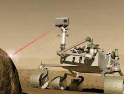 Pháp phát triển thiết bị laser phân tích bề mặt sao Hỏa