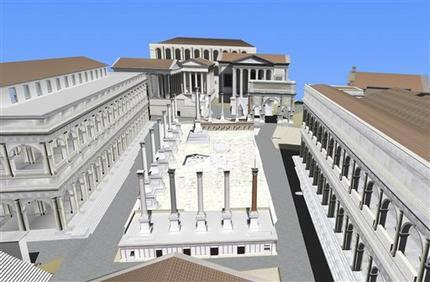 """Italia: """"Tái tạo thành Roma"""" trong thế giới kỹ thuật số"""