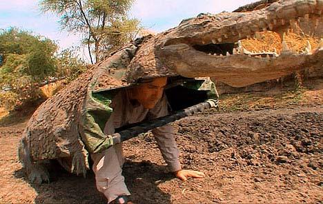 Giả cá sấu để nghiên cứu