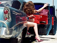 Giày cao gót cho phụ nữ lái xe