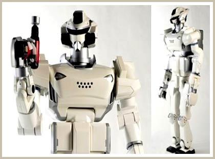 Robot HRP-3 Promet Mk-II: Người công nhân lý tưởng