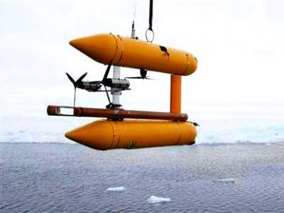 Dùng robot để phát hiện sự sống ở Bắc Băng Dương