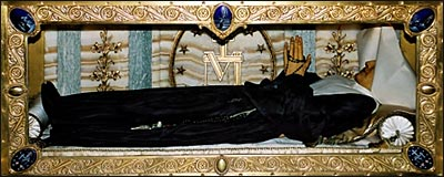 Di hài Thánh Catherine Laboure (1806-1876).