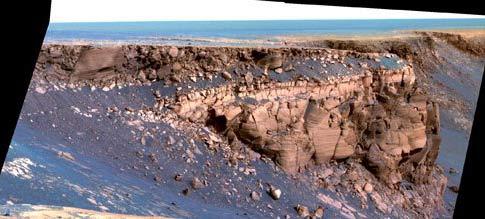 NASA: Dùng robot thám hiểm miệng hố trên sao Hỏa
