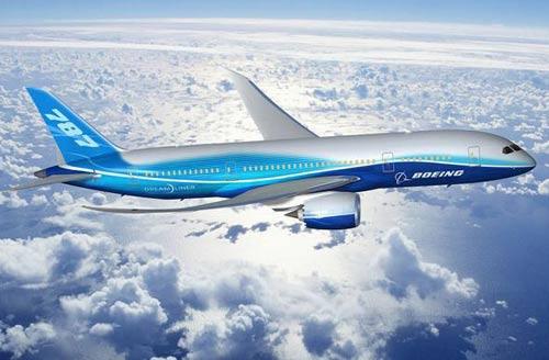 Boeing ra mắt thế hệ máy bay mới 787 Dreamliner