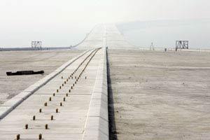 Trung Quốc xây cầu vượt biển dài nhất thế giới