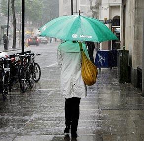 Hoạt động con người ảnh hưởng đến sự thay đổi lượng mưa