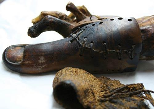 Phát hiện ngón chân giả ở một xác ướp Ai Cập