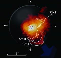Phát hiện những phân tử cần thiết cho sự sống quanh một ngôi sao siêu khổng lồ