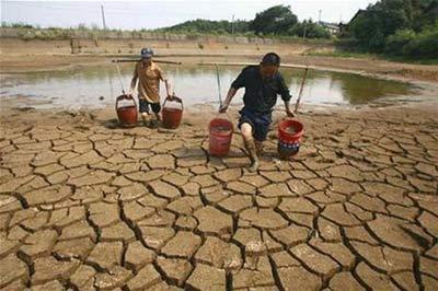 Trung Quốc: Hạn hán khiến 7,5 triệu người thiếu nước uống