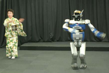 Robot học nhảy