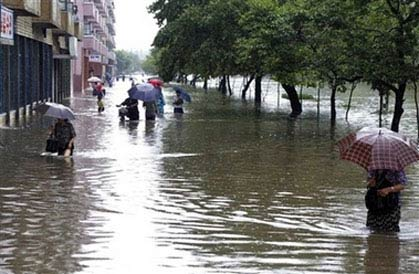 Hàng trăm người chết, mất tích vì lũ lụt ở Triều Tiên