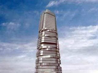 Nga xây dựng hai cao ốc kỳ lạ tất cả các tầng đều quay