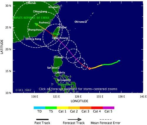 """Hai """"siêu bão"""" cùng hoạt động ngoài khơi Thái Bình Dương"""