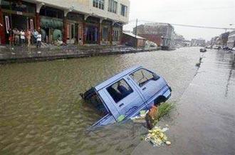 Bão tàn phá miền đông Trung Quốc