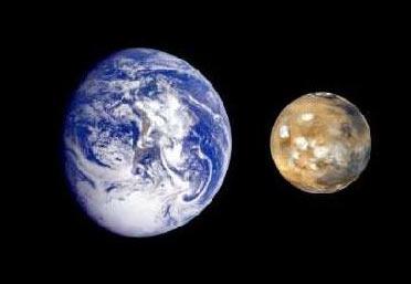 Sao Hỏa đang đến gần Trái Đất
