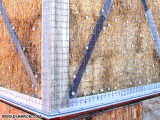 Xây nhà bằng rơm rạ – lý tưởng cho môi trường, hiệu quả về kinh tế