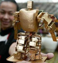 Robot nhỏ nhất, nhẹ nhất và rẻ tiền nhất