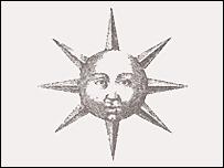 Mặt trời vàng làm bằng công nghệ sản xuất chip
