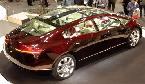 Xe Honda FCX (2006) dùng pin nhiên liệu hydro