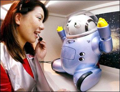"""Nhật Bản: Robot dành cho người già bị """"thất sủng"""""""