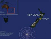 3 trận động đất mạnh rung chuyển Thái Bình Dương