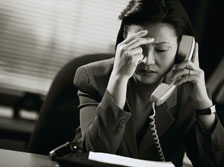 Stress công việc gây ung thư vú