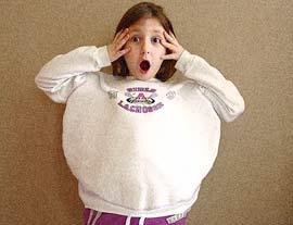Trẻ béo phì là một bệnh khó chữa nhất