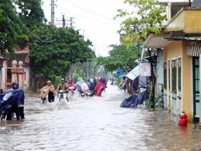 Bão Lekima đổ bộ vào Nghệ An - Hà Tĩnh