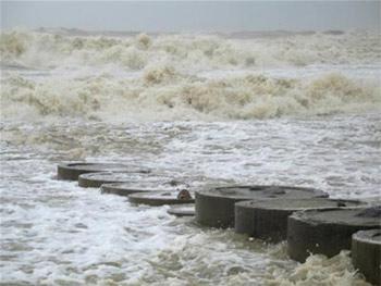Hàng nghìn ngôi nhà bị bão cấp 12 tàn phá