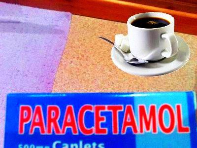 Paracetamol với cafeine: Nguy hiểm!