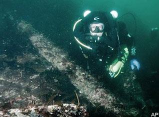 Tìm thấy xác tàu đắm 139 năm trước ở Alaska