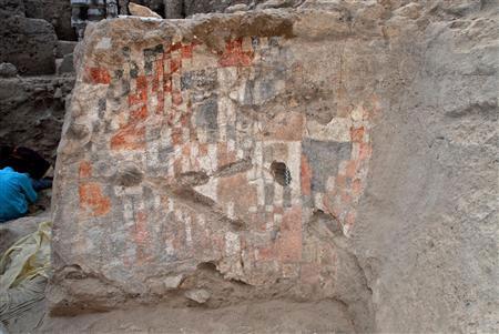 Bức bích họa cổ nhất thế giới tại Syria