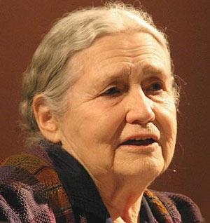 Giải Nobel Văn chương 2007 về tay nhà văn Anh Doris Lessing