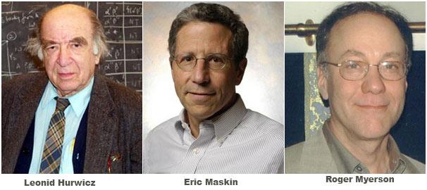 Giải Nobel Kinh tế 2007: Bộ ba người Mỹ giành vinh quang