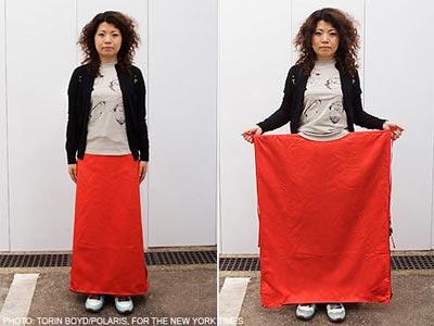 Váy ngụy trang kiểu Nhật