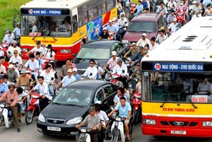 Hà Nội, TP HCM ô nhiễm bụi hàng đầu châu Á