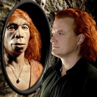 Người Neandertal có tóc màu hung