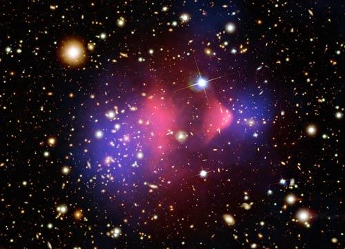 Chất đen không phải nguyên nhân của sự va chạm trong vũ trụ?