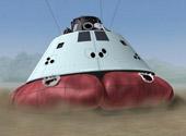 Mô hình tàu không gian Orion tương lai