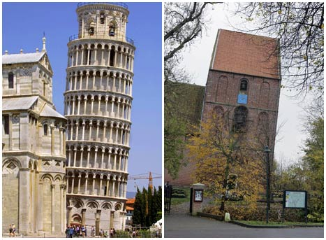 """Tháp nghiêng Pisa bị """"mất chức"""""""