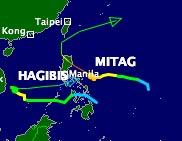 Philippines: Sơ tán tránh bão Mitag