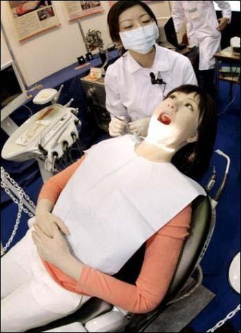 Sử dụng robot trong điều trị nha khoa