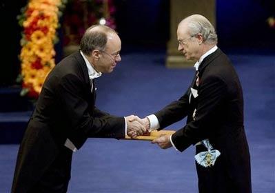 Sôi động lễ trao giải thưởng Nobel 2007