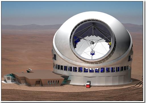 Kính thiên văn to bằng toà nhà... 10 tầng