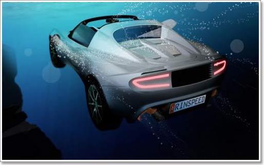 Xe chạy dưới nước đầu tiên trên thế giới