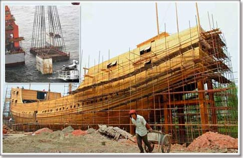 Trung Quốc trục vớt thuyền buôn 800 năm tuổi